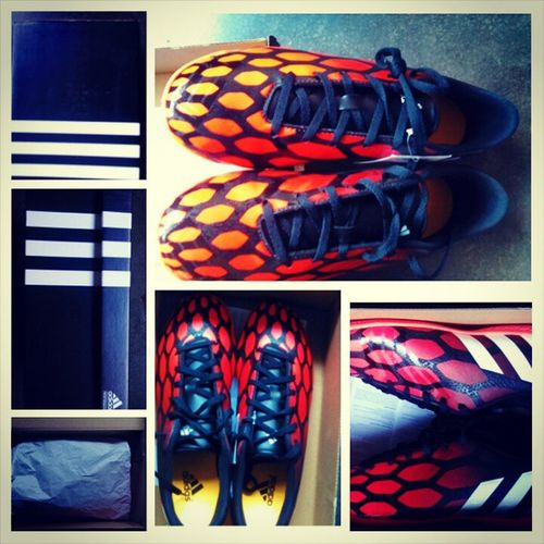 Time to let the predator do the talking on pitch!!! @adidasfootball @boots Gocr7 Addidaspredatorinstant Lovesoccer