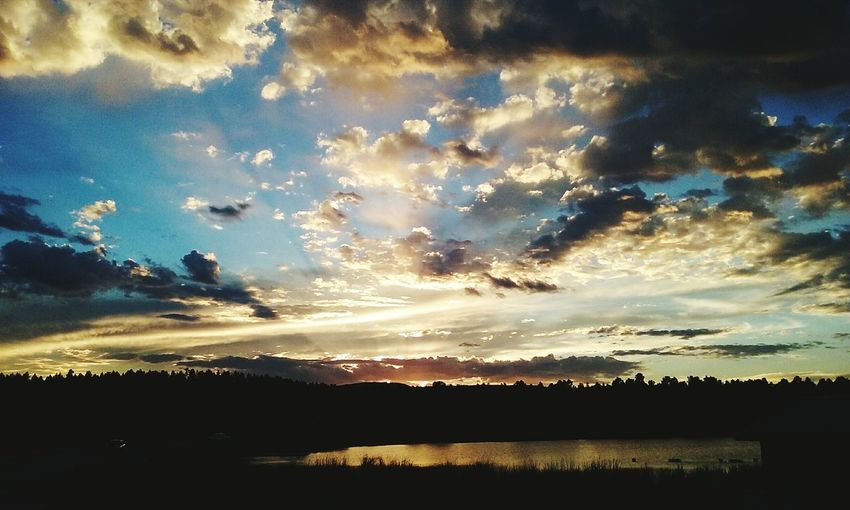 Beautiful Sunset here in Pagosa Springs,Colorado First Eyeem Photo
