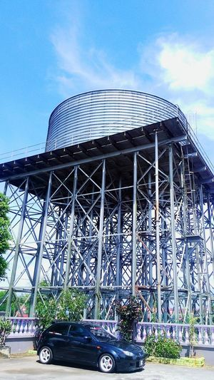 Stand Tall Watertank Stay High Stand Still Kemas Kuala Kangsar Perak Architecture Built Structure Travel Sky Tourism Travel Destinations Dome Building Exterior No People Outdoors Day Bright Day