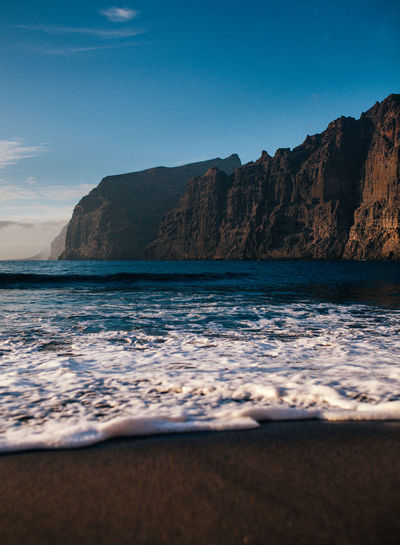 Ocean love EyeEm Best Shots EyeEm Nature Lover Oceanside Sigma TeamCanon Beach Beauty In Nature Cliff Formation Losgigantes Motion Mountain Nature No People Outdoors Rock Rock - Object Sand & Sea Scenics - Nature Sea Sky Tenerife Tranquil Scene Water Wave