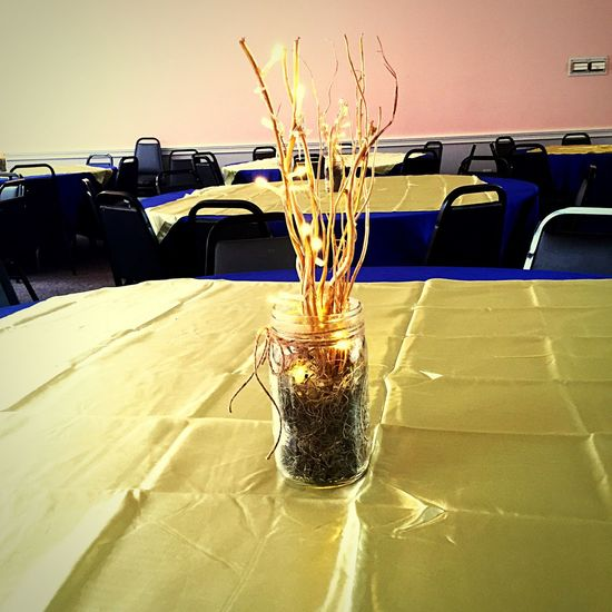 Party Tables Graduation Americanlegion Decorate Having Fun Taking Pictures