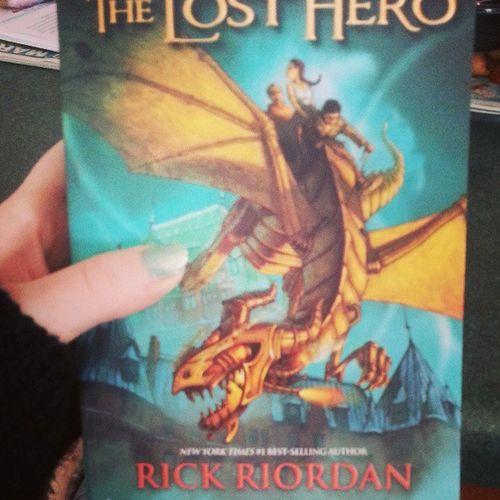 Starting A New Series TheLostHero Rickriordan Book1 Heroesofolympus