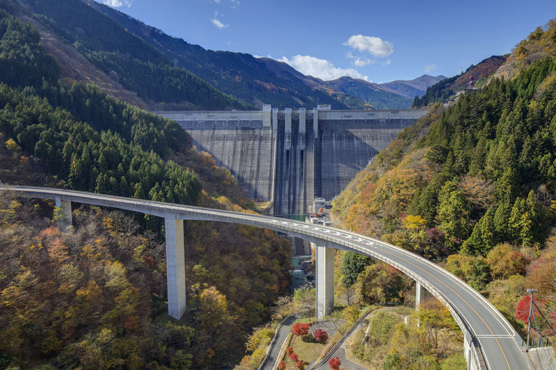 landscape japan saitama Arch Bridge Architecture Beauty In Nature Bridge Bridge - Man Made Structure Built Structure Connection Dam Day Hydroelectric Power Mountain Mountain Range Nature No People Outdoors Plant Scenics - Nature Sky Transportation Tree Water
