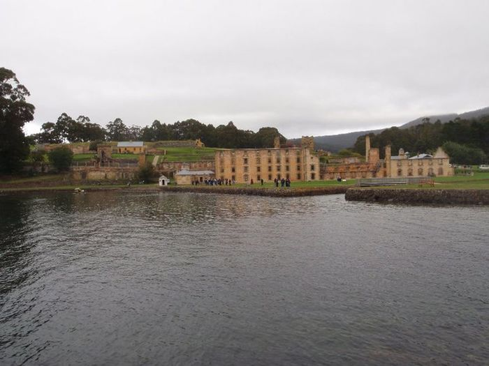 Tasmania Water Coastline Port Arthur Prison Ruins