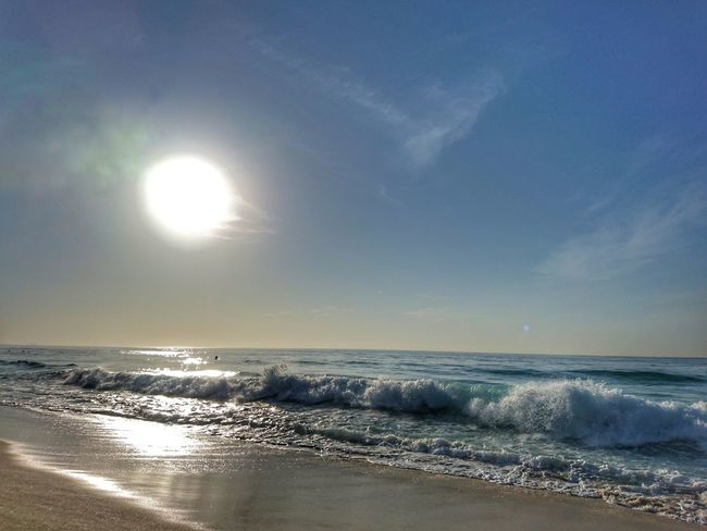 Lastdayofyear Sea Summertime Horizon Over Water Nature Rio De Janeiro Eyeem Fotos Collection⛵ Beauty In Nature EyeEm Nature Lover Brazil 2016 Sky Reflection Water Scenics Refraction Outdoors Beauty In Nature No People Beach Day Astrology Sign