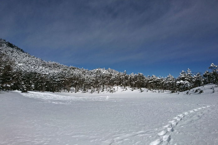 Trace 八ヶ岳 Nature Snow Lake Frozen Skyporn Cloud - Sky Mountain Range Tree Outdoors AW130 From My Point Of View
