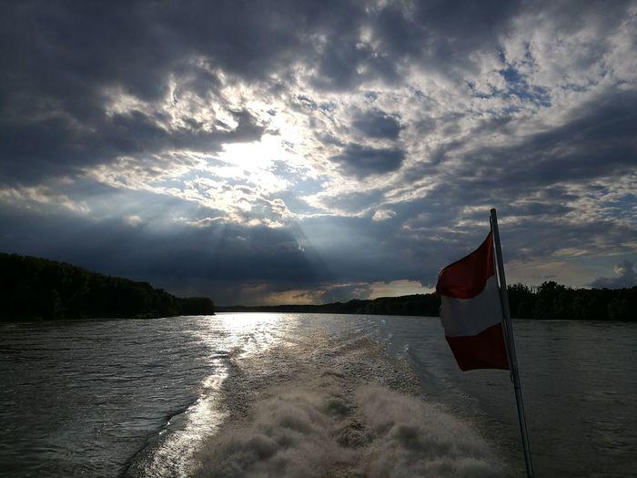 Donau, Wien Richtung Bratislava