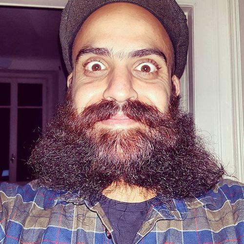 Let's have a laugh!! 😆😆😆 Beard Beards Beardedking Beardlover Beardlove Bearded Beardlife Beardsofinstagram Instabeard Beardporn Beardnation Beardenvy Beardbrothers Beardgang Beardgames Guyswithbeard Mensfashion Beardie Beastmode BeardsAreSexy ILoveBeard Style Beardedman Beardlovers Bigbeards noshavelife funny selfie me moustache