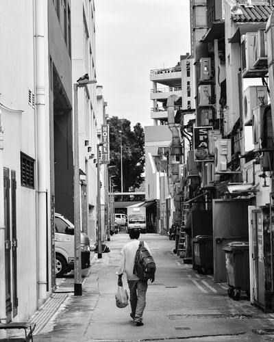 Exploring streets of Singapore