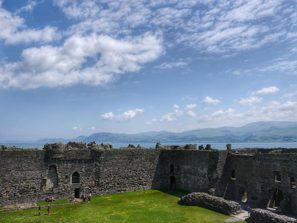 Beautiful beaumaris castle, in the background the welsh snowdonians... The Explorer - 2014 EyeEm Awards Streamzoofamily Our Planet Landscape_Collection