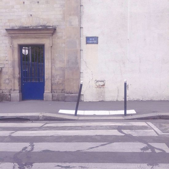Things I Like Blue White Blueandwhite Gate Street Quiet Moments Paris France Showcase April Original Experiences effortlessly chic. On The Way