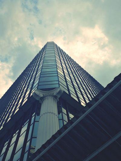Building Exterior Cloud - Sky No People