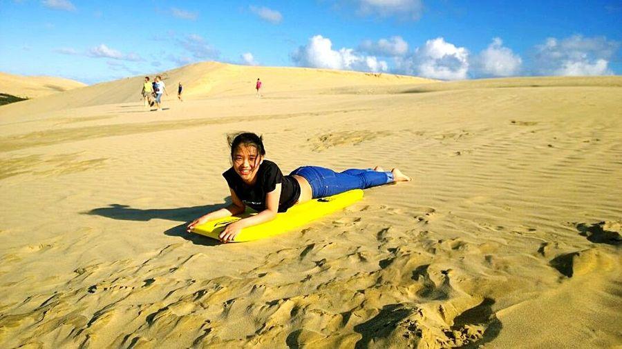 Sandsurfing 🌞 Newzealandoutdoors Newzealandnorthisland Newzealand