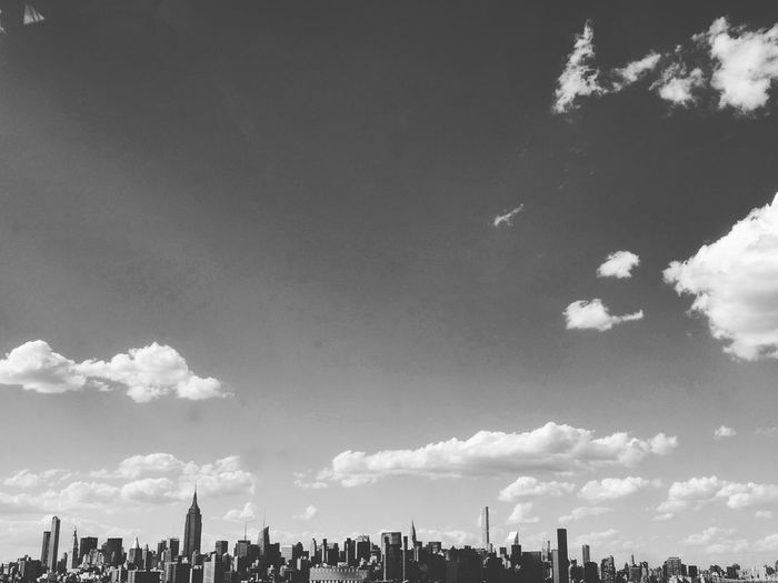 New York. Cloud