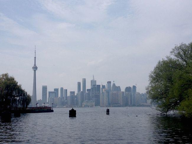 Toronto Islands Toronto CN Tower Followme Follow Me I'll Follow Back Cityscapes EyeEmNewHere