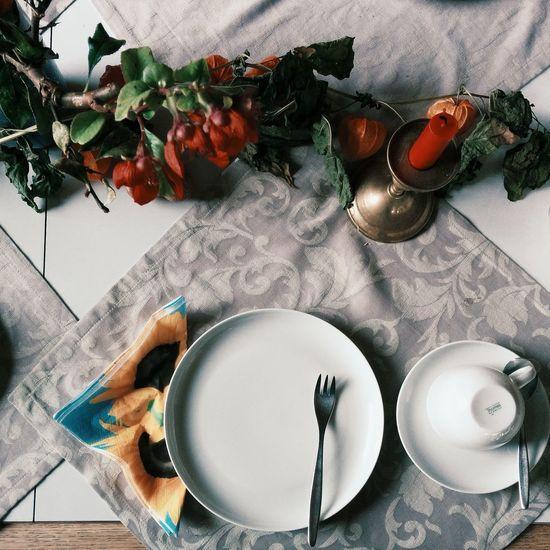 """Country Series"" 3 Tea Time Decoration Alltagsleben Autumn"