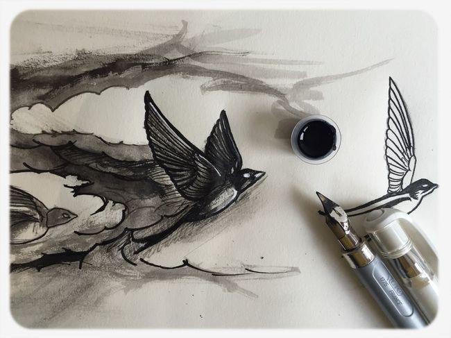Tattoo ❤ Tattoo Tattooflash Sketch