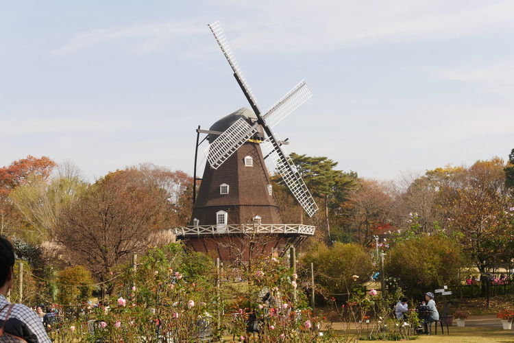 Architecture Funabashi Funabashi Andersen Park Nature No People Outdoors Sky Traditional Windmill Windmill