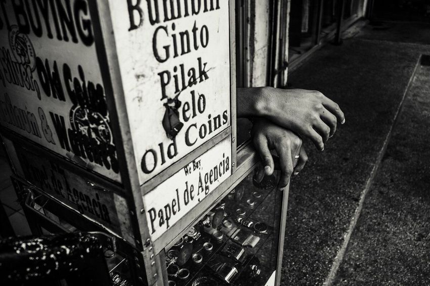 Manila [2016] Streetphotography Philippines Human Hand Monochrome Blackandwhite Streetphoto_bw Fujifilm_xseries Manila City The Street Photographer - 2017 EyeEm Awards