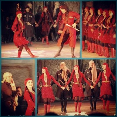 черкесия танец шапсуги Кавказ кабардинка circassian adyga adige cerces circassia