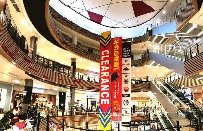Iphonephotography Streamzoofamily Chiba,Japan Makuhari Shopping Mall 今日は休みなので、夏休みの明輝とブラブラと😊