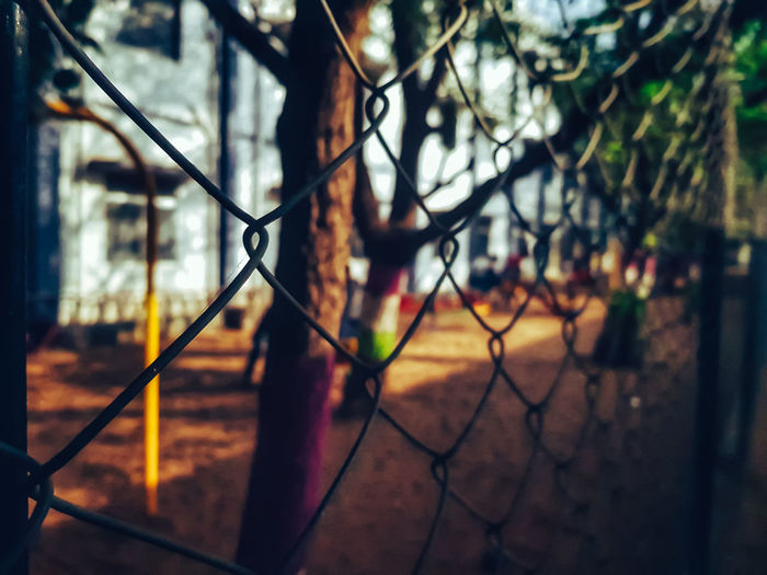 Fences.. Chainlink Fence Security Protection Safety Metal Day Outdoors Barbed Wire No People Close-up Tree Sky Court EyeEm Ready   I LOVE PHOTOGRAPHY Landscape Portrait EyeEmNewHere EyeEm Best Shots - Landscape Landscape_captures Nature Eyeemphotography Traveldiaries Travelgram Travel Photography