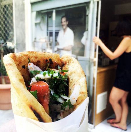 """""""Gyros Pitta"""" in Athens Athens Bread Eating Focus On Foreground Food Food And Drink Freshness Garnish Greece Greek Food Gyros Herbs Hungry Enjoy The New Normal Kebab Lamb Meal Mediterranean  Mediterranean Food Pitta Ready-to-eat Scrumptious Take Out Food Takeaway Temptation Your Ticket To Europe Food Stories"""