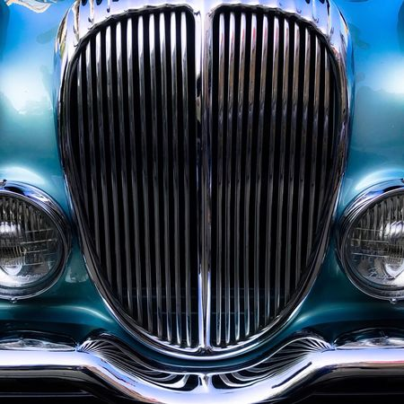radiator grille Car Luxury No People Close-up Radiator Grille Chrome Blue The Week On EyeEm Transportation Headlight Full Frame The Week On EyeEm