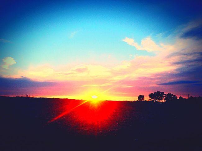 Sunset Sky Landscape Kansassunsetsarethebest Kansasphotos Kansas