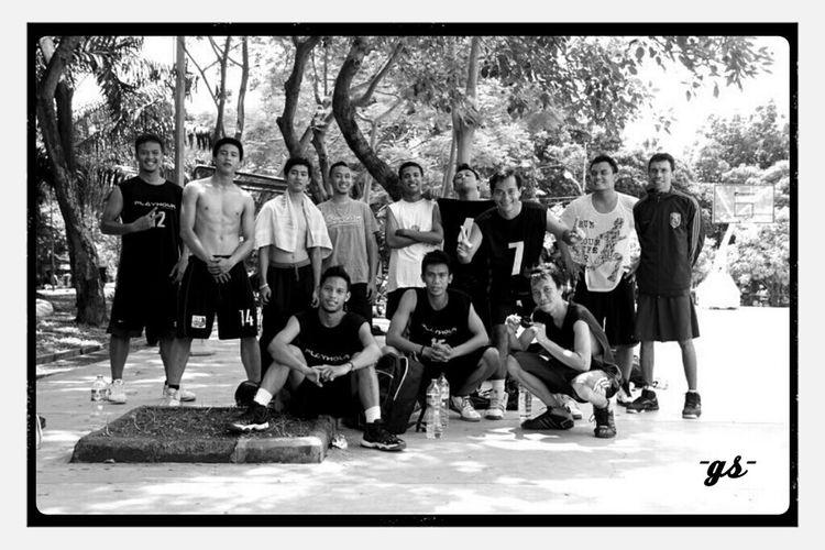 Team__Menteng Cup 2013_(1/bw) Basketball Monochrome B&w Photography Portrait