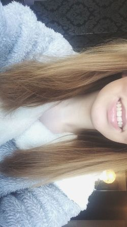 Smile Morning Teeth Getting Ready Dressing Gown Tired Selfie Me