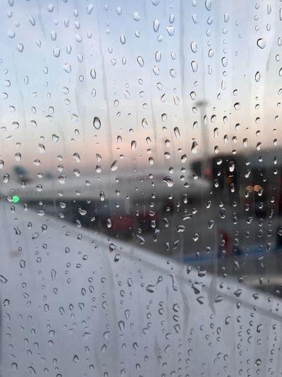 flight RainDrop Rain Wet Window