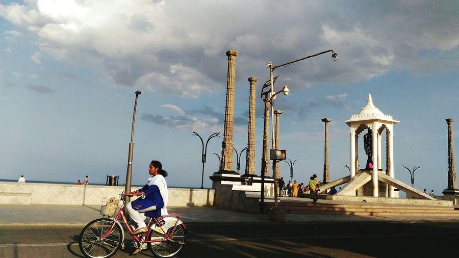 Pondicherry Beach City Main View