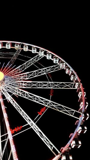 No People Business Finance And Industry Night Outdoors Close-up Black Background Arts Culture And Entertainment Communication Photographing Shooting Photos Benjamin Decraene Be. Ready. EyeEmNewHere Illuminated Grand Roue Fancy Fair Business Stories