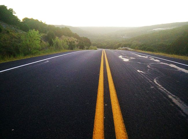 Dramatic Angles Asphalt Country Road Day Diminishing Perspective Double Yellow Line Empty Empty Road Landscape Long Mountain Nature No People Non-urban Scene Outdoors Road Road Marking Colour Of Life Surface Level The Way Forward Tranquil Scene Tranquility Transportation Vanishing Point