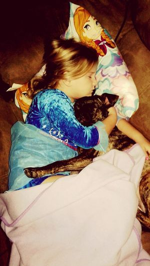 A Girl And Her Dog Cute Pets