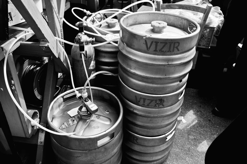 Abundance Arrangement Beer Beer And Burger Fest Beer Festival Beer Storage Beer Time Black And White Cans Of Beer Close-up Container Day Gallons Of Beer Large Group Of Objects No People Picoftheday Pils Pivo In Burger Fest Still Life