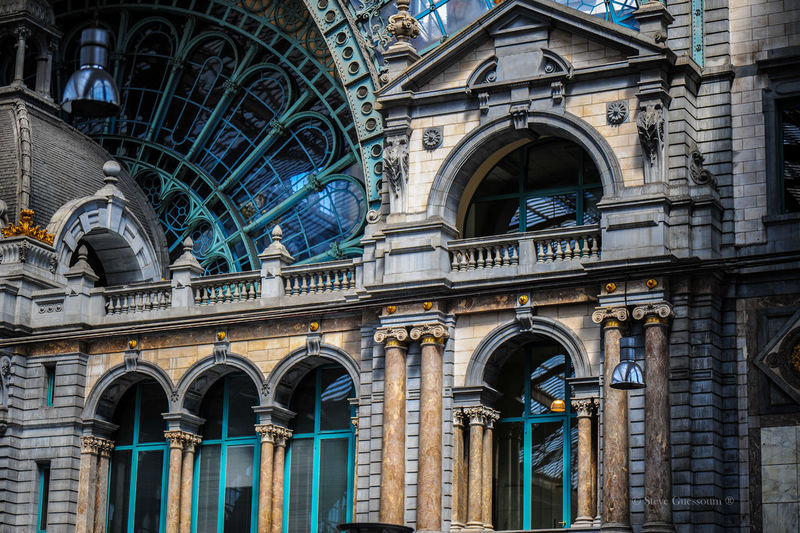 Antwerp Central Station series Architecture Antwerpen Central Station Train EyeEm Selects Architecture Building Exterior Built Structure Travel Destinations Religion Window Arch