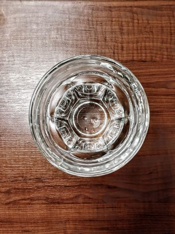 Wine Not Not Wine Crystal Water Water Reflections Sommergefühle Circle Close-up Indoors  Concentric Wood - Material No People Table Directly Above Water Day