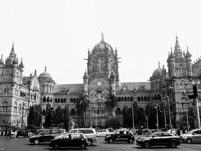 Mumbai main train station Gothic Mumbai India Building Exterior Sky Built Structure Architecture Mode Of Transportation Car Motor Vehicle