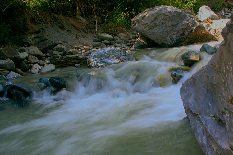 BACH Flusslandschaft Beauty In Nature Langzeitaufnahme Langzeitbelichtung✔ Steine Wasserfall Water EyeEmNewHere