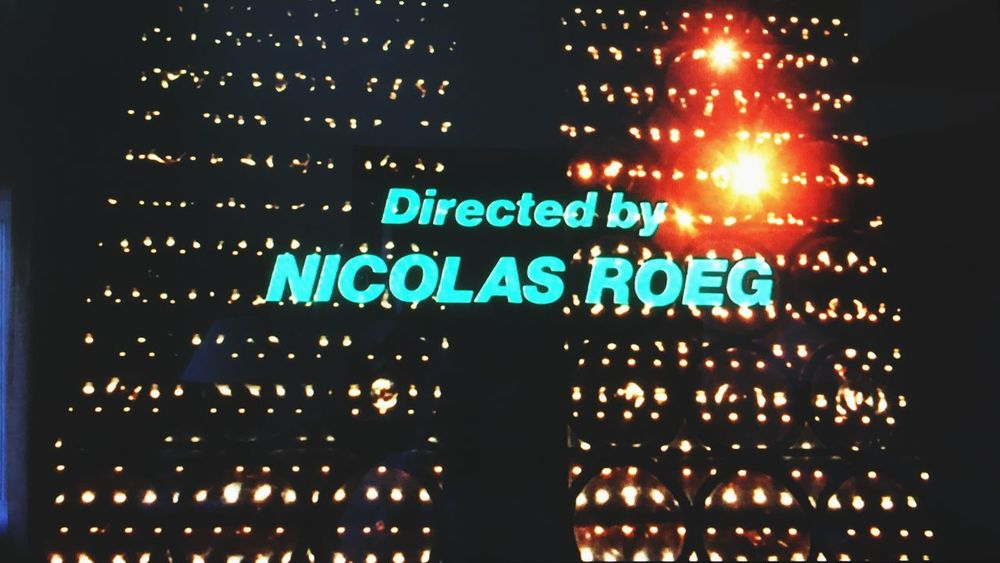 Don't Look Now Nicolas Roeg