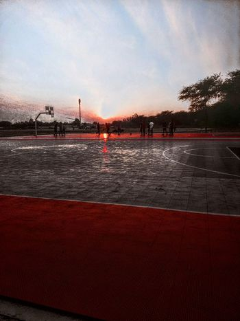 Timepass Clicks Manipal University Jaipur Basketball Practice Eveningshot Mobile Photography Sports Ballsport Editing Pics Scene