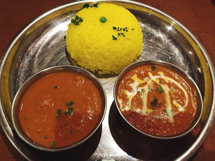 チキン&ベジタブルカレー Carry India カレー インドカレー ターメリックライス