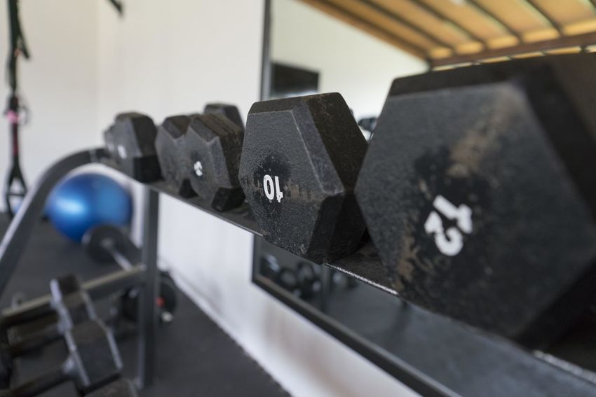 Gym Equipment Weight Indoors  Close-up No People Selective Focus Focus On Foreground Number Black Color Metal Equipment Still Life Machinery