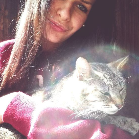 With The Best Cat Ever Like?  Follow Me On Instagram ??