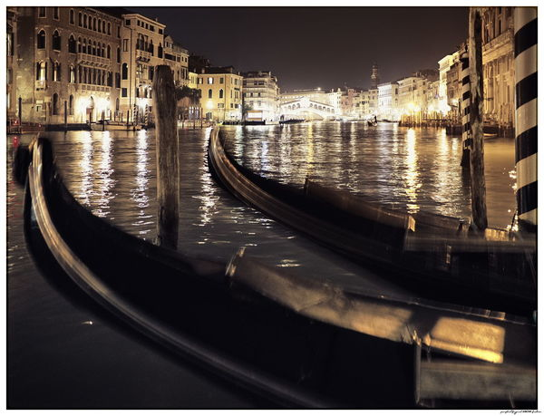 Italia Venezia Architecture Canal City Gondola - Traditional Boat Italy Nautical Vessel No People Outdoors Reflection Venice Water