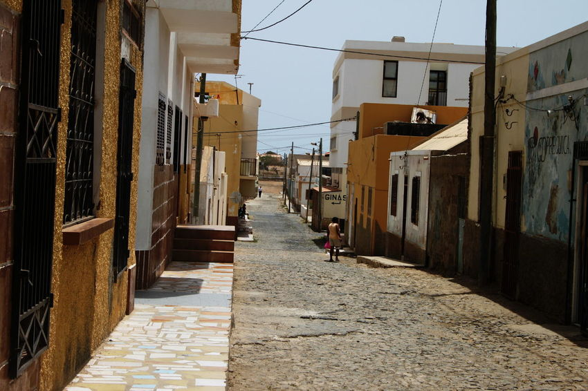 Architecture Building Exterior Built Structure Capo Verde City Day Espargos Lane Outdoors People Residential Building Sal Island Sky Street Summer 2015 The Way Forward