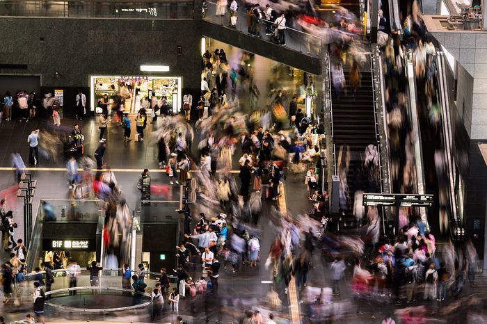 Crowded Built Structure City Life Rush Hour The Week On EyeEm Travelgram Travelblogger Travel Photography Travel Destinations Loves_japan Japan Photography Icu_japan Japan_daily_pic Wu_japan Ig_japan Igersjp Capital Of Asia Japan_daytime_view Kyoto Station Kyotowalk 京都 京都駅 City Street Real People Neverstopexploring