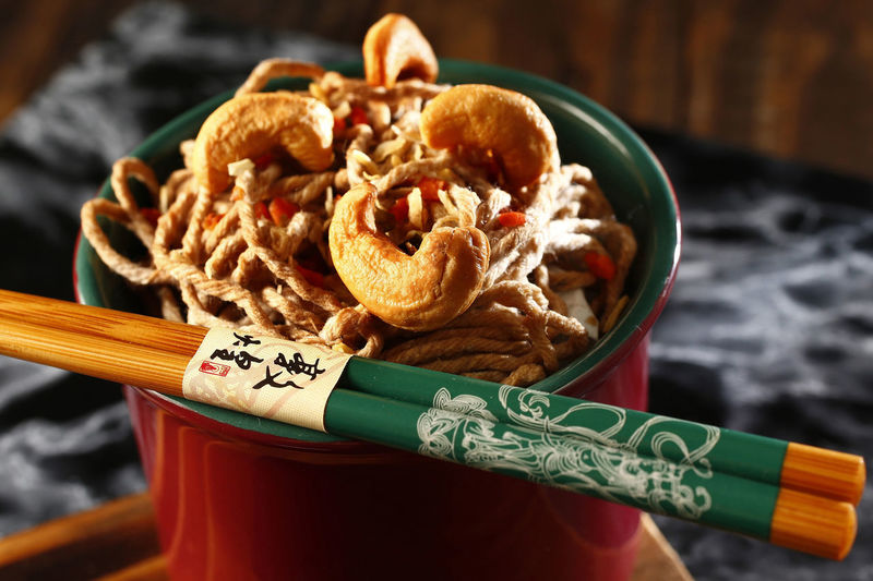 yakisoba Food Food And Drink Close-up No People Indoors  Healthy Eating Freshness Ready-to-eat Still Life High Angle View Table Yakisoba Focus On Foreground Asian Food Plate Chopsticks Seafood Meat Snack Japanese Food Chinese Food Shoyu